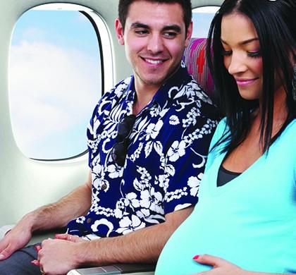 Можно ли беременным летать на самолете?