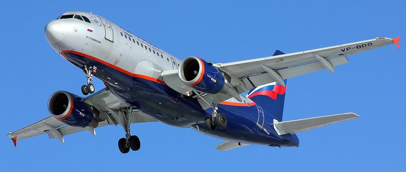 Airbus A319-100 Аэрофлот (VP-BDO)
