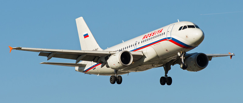 Airbus A319-100 Россия (VQ-BAT)