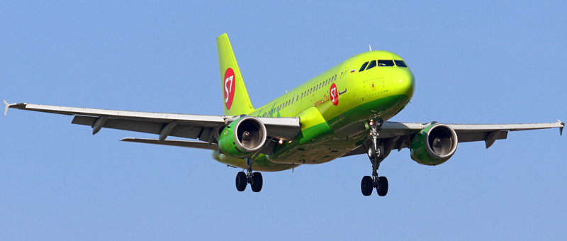 Airbus A319-100 S7-Airlines (VP-BTP)