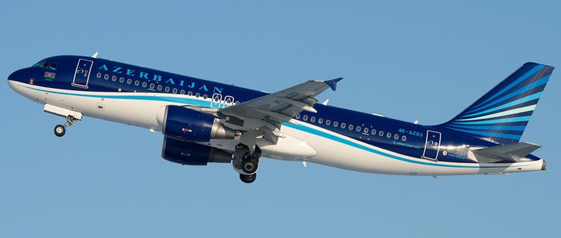 Airbus A320-200 Азербайджанские авиалинии