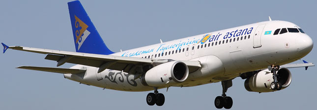 Airbus A320-200 Air Astana