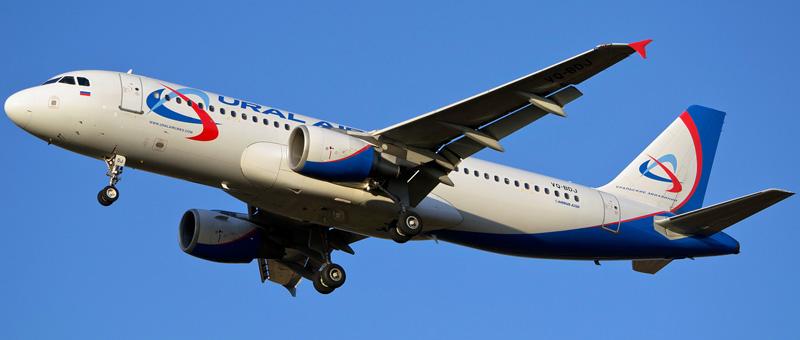 Airbus A320-200 Уральские авиалинии