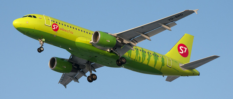 Airbus A320-200 S7-Airlines (VQ-BOA)