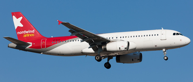 Airbus A320-2001 Nordwind Airlines