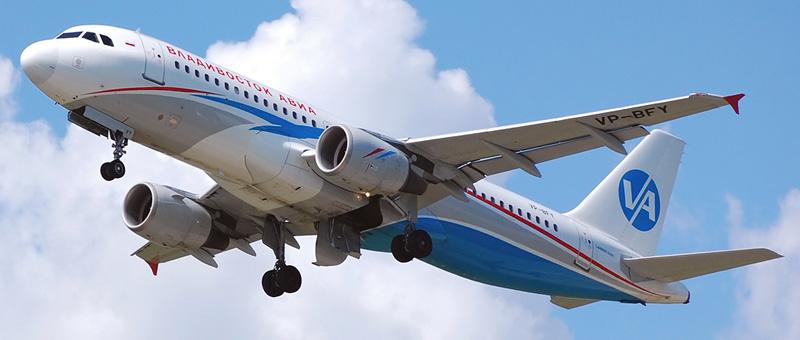 Airbus A320-214 Владивосток Авиа