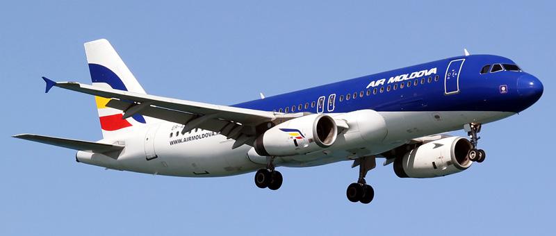 Airbus A320-231 Air Moldova