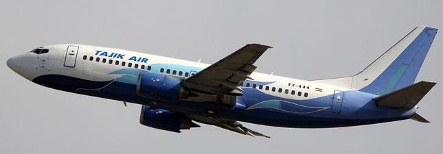 Boeing 737-300 Таджик Эйр