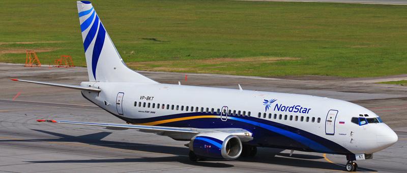 Boeing 737-33R Нордстар