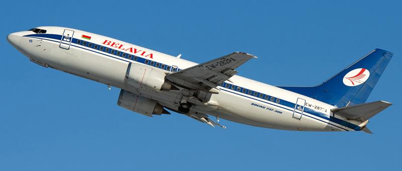 Boeing 737-3Q8 Белавиа