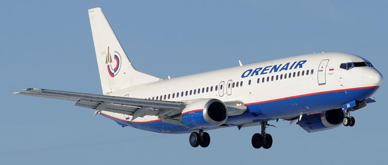 Boeing 737-400 Оренбургские Авиалинии