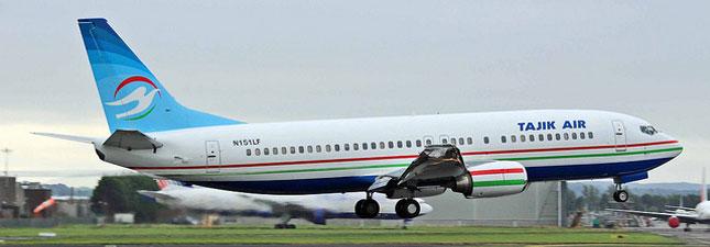 Boeing 737-400 Таджик Эйр