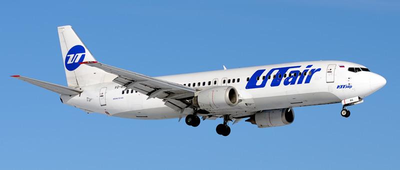 Boeing 737-400 UTAir (VQ-BIG)