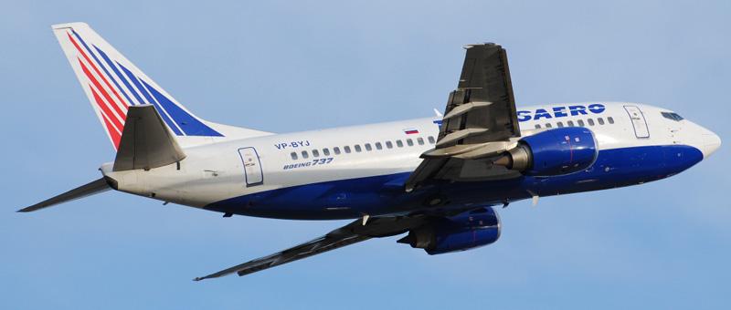 Boeing 737-500 Transaero (VP-BYJ)
