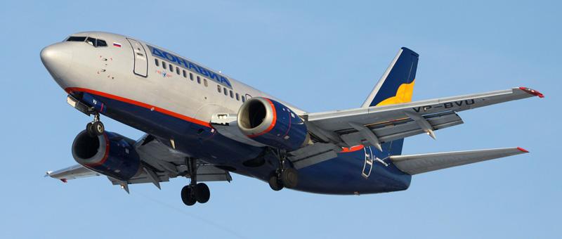 Boeing 737-500 ДонАвиа