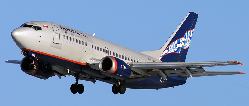 Boeing 737-505 Нордавиа