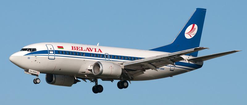 Boeing 737-52 Белавиа
