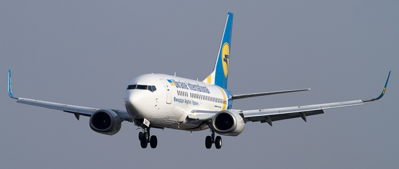 Boeing 737-520 Ukraine Airlines