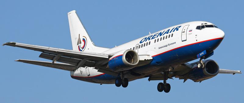 Boeing 737-5H6 Оренбургские Авиалинии
