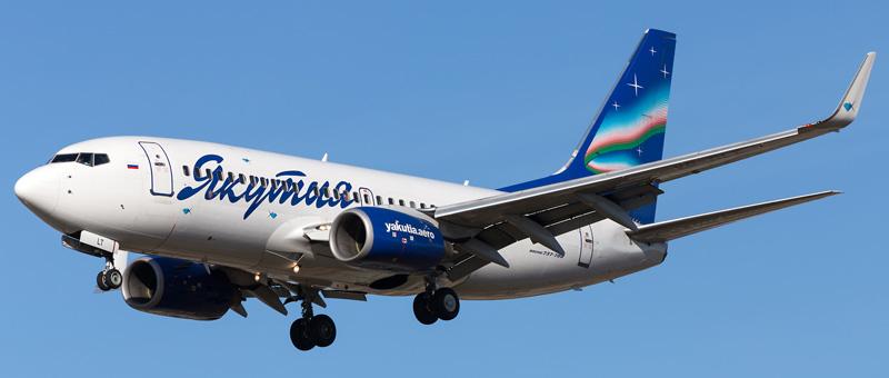 Boeing 737-76Q Якутия