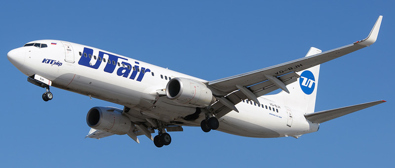 Boeing 737-800 UTAir (VQ-BJH)