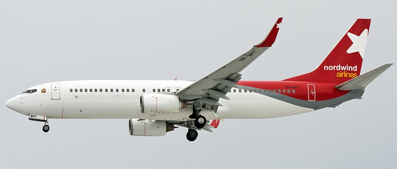 Boeing 737-83N Nordwind Airlines