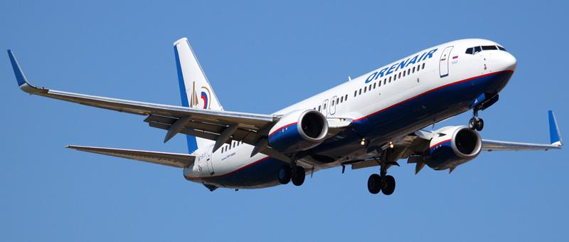 Boeing 737-86N Оренбургские Авиалинии