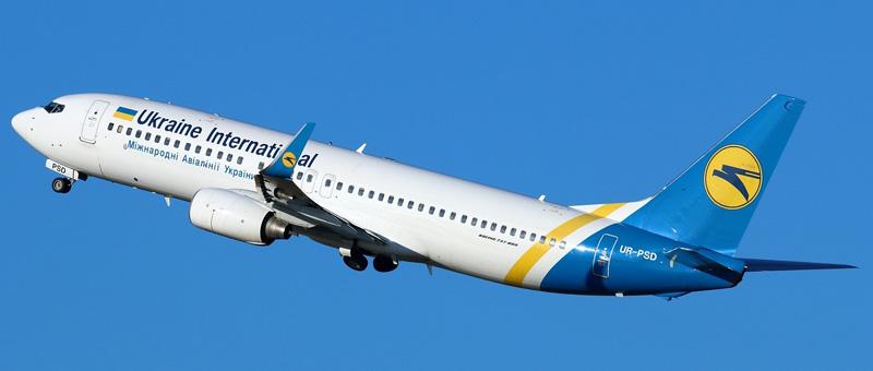 Boeing 737-8HX Ukraine Airlines