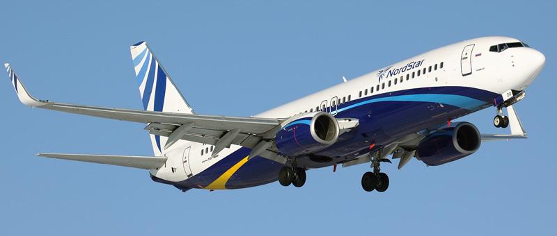 Boeing 737-8K5 Нордстар