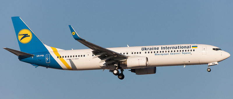 Boeing 737-900 Ukraine Airlines