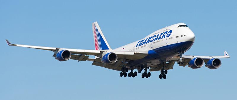 Boeing 747-400 Transaero (EI-XLG)