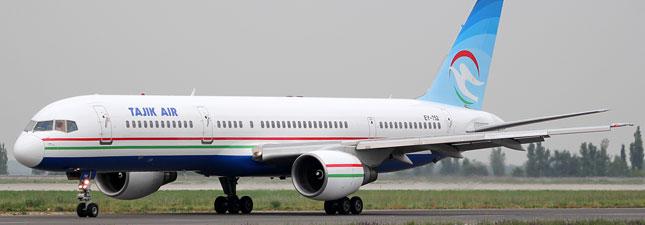 Boeing 757-200 Таджик Эйр