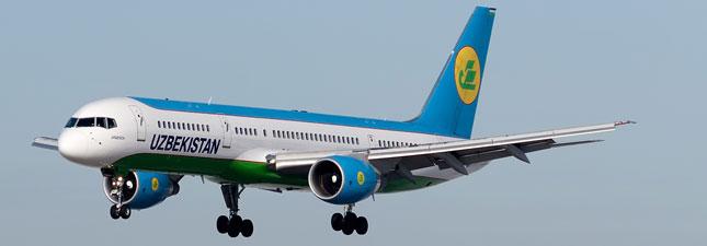 Boeing 757-200 Узбекские авиалинии