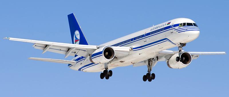 Boeing 757-22L Азербайджанские авиалинии