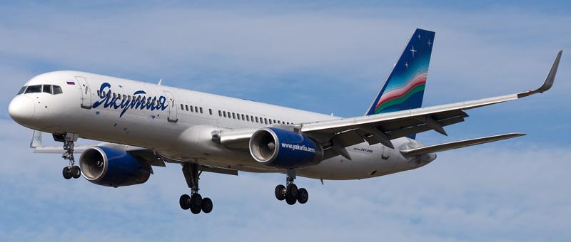 Boeing 757-23N Якутия