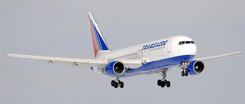 Boeing 767-200 Transaero (EI-CXZ)