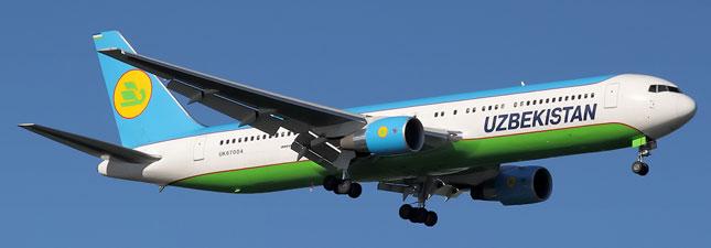 Boeing 767-300 Узбекские авиалинии