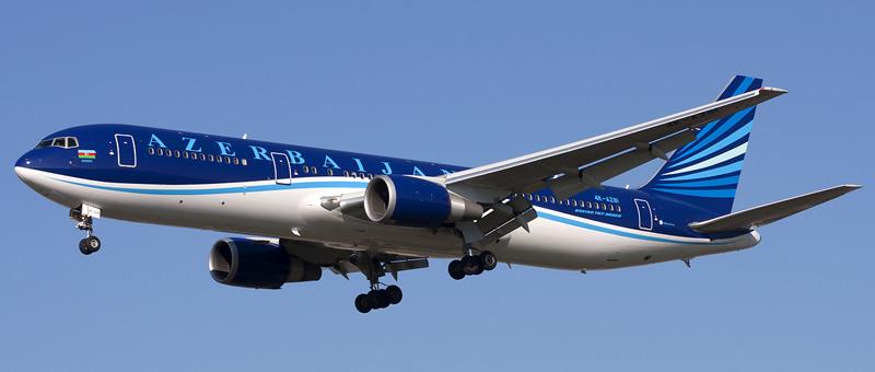 Boeing 767-300ER Азербайджанские авиалинии