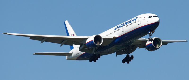 Boeing 777-200 Оренбургские Авиалинии