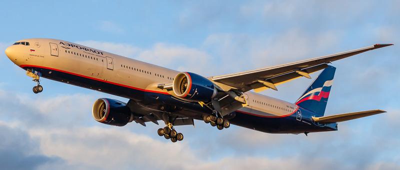 Boeing 777-300 Аэрофлот (VP-BGD)