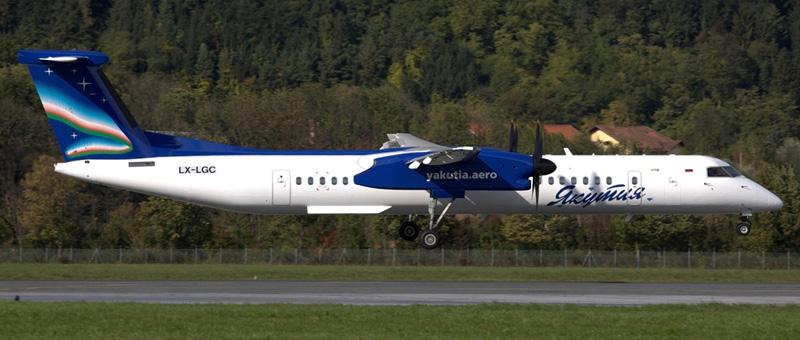 De Havilland Canada DHC-8 Якутия