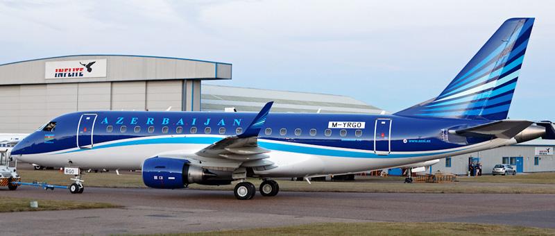 Embraer ERJ-170 Азербайджанские авиалинии