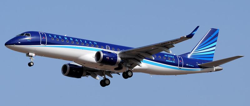 Embraer ERJ-190-100 Азербайджанские авиалинии