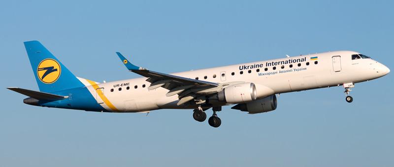 Embraer ERJ-190-UR Ukraine Airlines