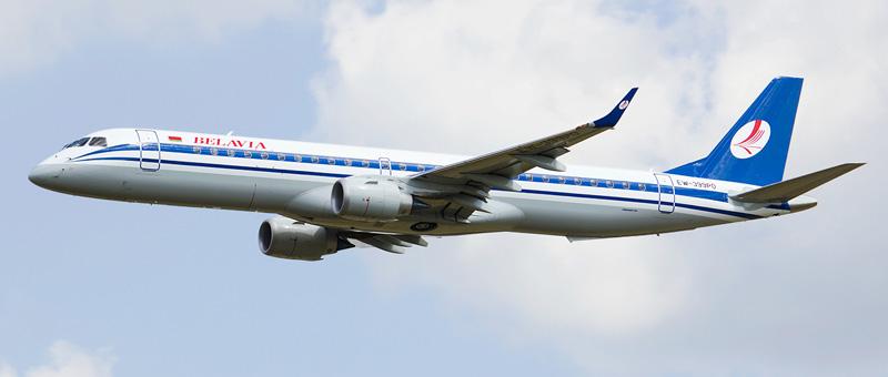 Embraer ERJ-195 Белавиа