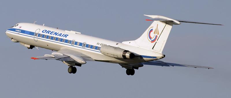 ТУ-134A Оренбургские Авиалинии