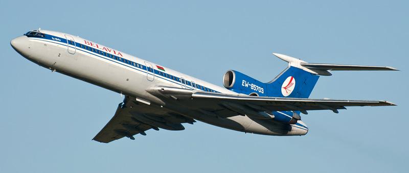 ТУ-154M1 Белавиа