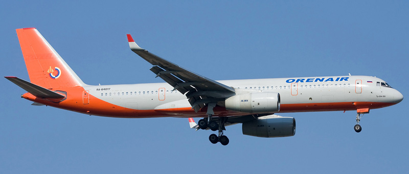 ТУ-204-100 Оренбургские Авиалинии