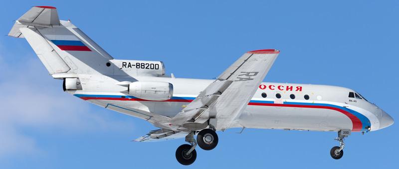 ЯК-40 Россия