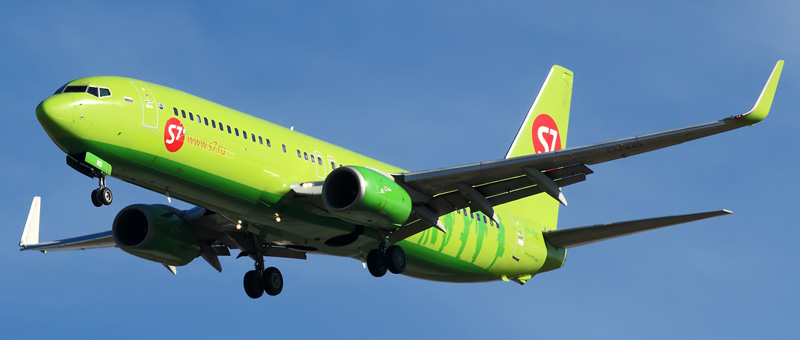 Boeing 737-800 S7-Airlines